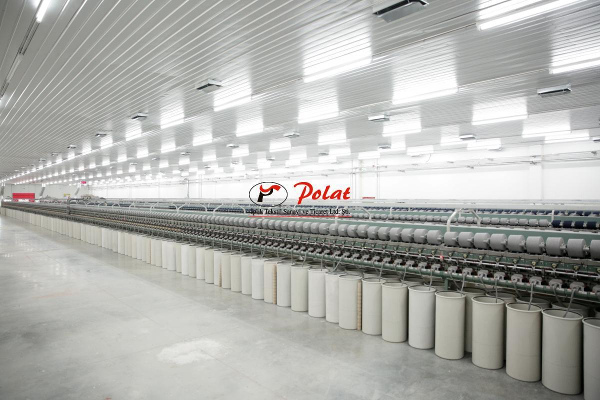 Open End Yarn Spinning Mill & Weaving Mill - Polat İplik Tekstil